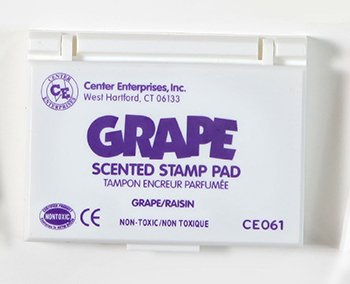 Stamp Pad Scented Grape Purple -- Case of 7