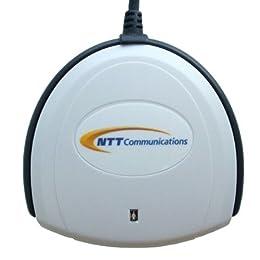 NTTコミュニケーションズ 接触型ICカードリーダー・ライター e-Tax Win&Mac対応 SCR3310