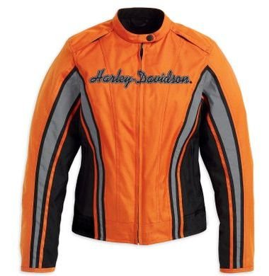 Harley-Davidson Womens Wild at Heart Ink Collection Hooded Jacket
