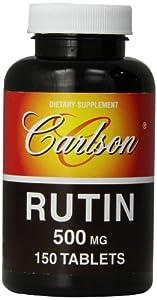 Carlson Labs Rutin 500mg 150 Tablets