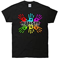 Support Educate Advocate Autism Handprint T-Shirt