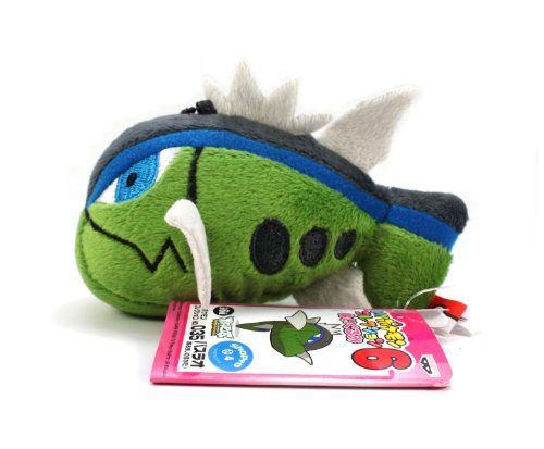 "Banpresto My Pokemon Collection Best Wishes Mini Plush - 47466 - 3"" Basculin/Bassrao (Blue Stripe)"