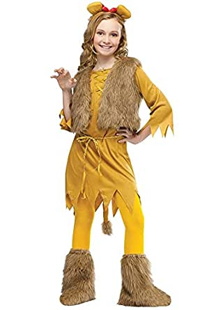 Lostin Halloween Children Animal Fur Cat Cosplay Tiger Costume