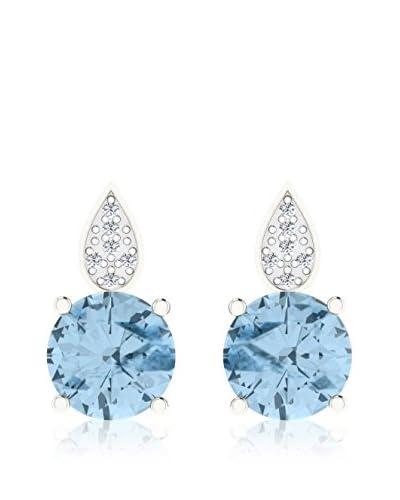 Art Of Diamond Orecchini Aquamarine White Gold