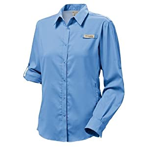 Columbia Women's Tamiami II Extended Size Long Sleeve Shirt