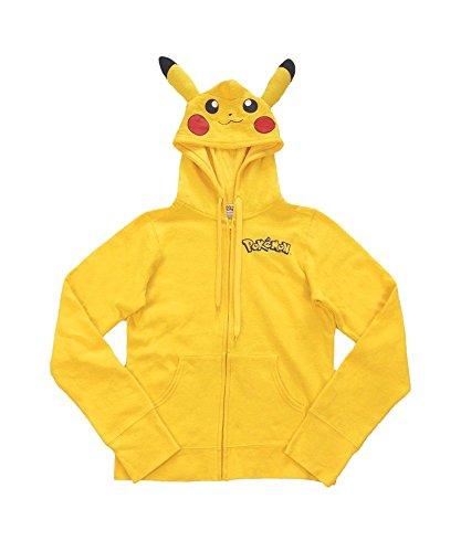 Womens I Am Pikachu Hoodie X-Large