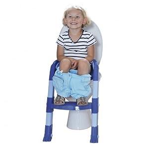 Amazon Com Kiddyloo Toilet Seat Reducer Blue Light