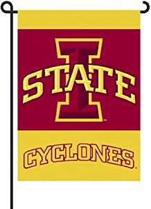 Buy NCAA Iowa State Cyclones 2-Sided Garden Flag by BSI