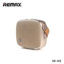 Original REMAX RB-M6 Desktop Smart HIFI FM Radio Wireless Bluetooth 4.1 Speaker With NFC Mic