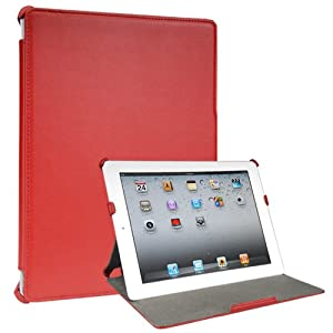Toblino 2 Leather Case for iPad 2 - Red