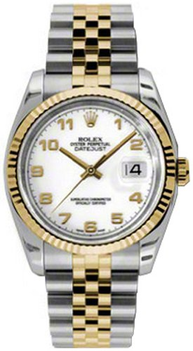 Rolex Datejust Oyster Perpetual Mens Watch 116233