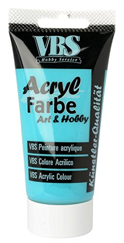 acrylfarbe vbs 75 ml t rkis. Black Bedroom Furniture Sets. Home Design Ideas
