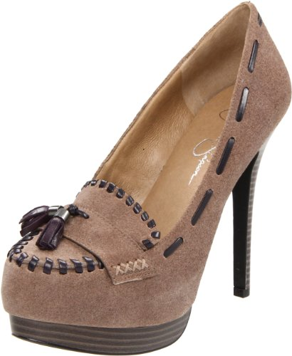Jessica Simpson Women's Ireena Pump,Winter Grey Yale,8 M US