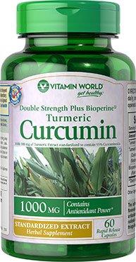 Vitamin World Turmeric Curcumin 1000 mg, 60ct
