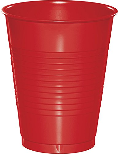 Creative Converting Classic Red 16 oz Plastic Cups - 20 ct