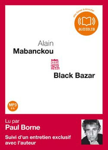 Black bazar : texte enregistré