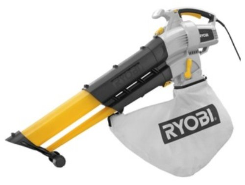 Best Electric Leaf Blower Vacuum : Factory reconditioned ryobi zrry amp ez vac