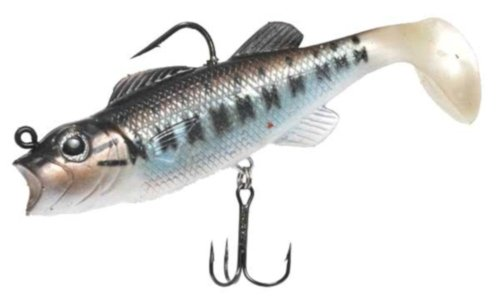 Real Fish Large Mouth Baby Bass Bait, 5-Inch