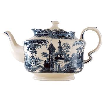 Stratford Blue Toile Teapot