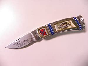 Franklin Mint General Robert E. Lee Pocket Knife B11XA20