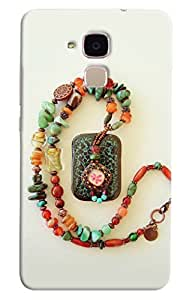 Omnam Sea Stones Beautiful Locket Printed Designer Back Cover Case For Huawei Honor 5C