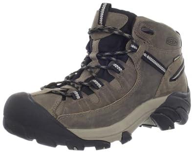 KEEN Men's Targhee II Mid Waterproof Hiking Boot,Shitake/Brindle,7 M US