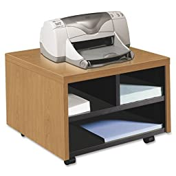 Hon Mobile Printer/Fax Stand, 20 by 19-7/8 by 14-1/8-Inch, Harvest
