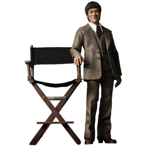 Picture of Sideshow Hot Toys Movie Masterpiece Icon 1/6 Scale Collectible Figure Bruce Lee in 70s Suit (B004SJTH4O) (Sideshow Action Figures)