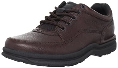 Rockport Men's World Tour Classic Walking Shoe,Brown Tumbled,10.5 M US