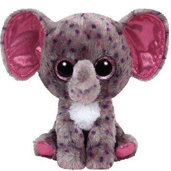 """Ty Beanie Boo Specks 6"""" elephant - 1"""