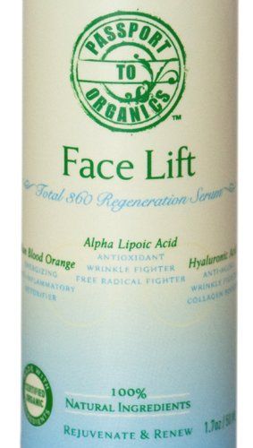 Face Lift - Total 360 Regeneration Cream with Alpha Lipoic Acid, DMAE, Vitamin C Ester, Hyaluronic Acid, and Italian Blood Orange