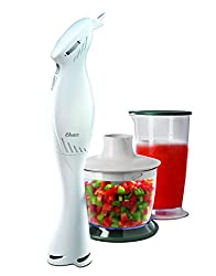 Oster 2612 Hand Blender with Chopping Attachment & Cup