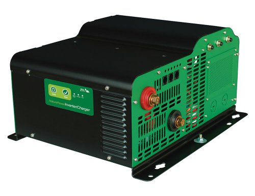 Nature Power 38330 Pure Sine Wave Inverter with 150-Amp Charger, 3000-watt