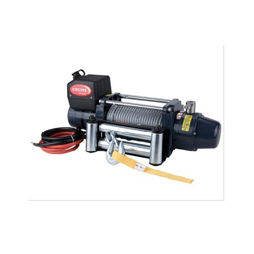 Car Tds-9.5C 9500Lb Lbs Pound Electric Recovery Winch 12V 5.0Hp Steel Cable
