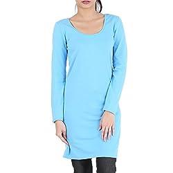 Avarnas Women's Tunic (AVTU003BUL_Boonie Blue_38)