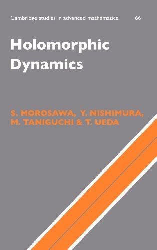 Holomorphic Dynamics (Cambridge Studies In Advanced Mathematics)