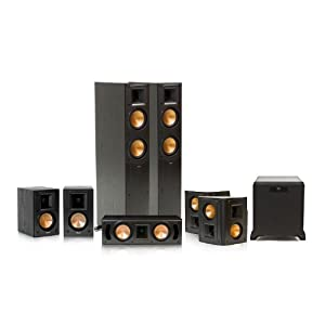 Klipsch RF-52 II Reference Series 7.1 Home Theater System with SW-450 Subwoofer (Black) by Klipsch