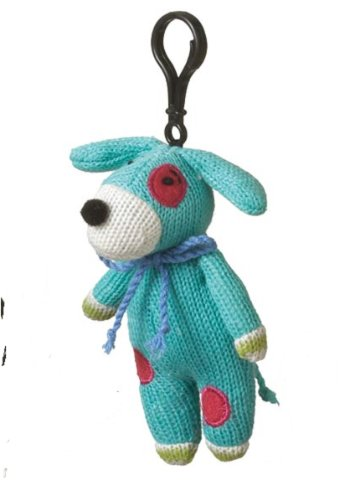 Genuine Monkeez Blue Dog Clip Animal Plush Yarn - 1