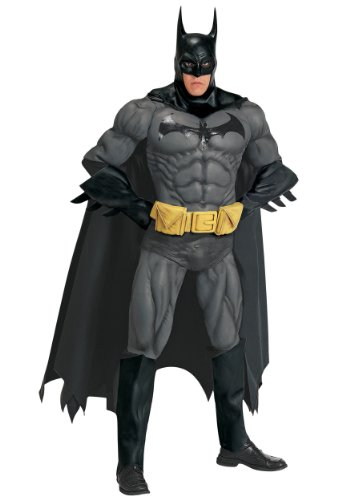 Rubies Mens Batman Collectors Edition Marvel Deluxe Superhero Fancy Costume