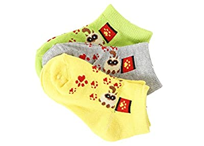 Girls Socks Print Variety Pack by Brightly Kids