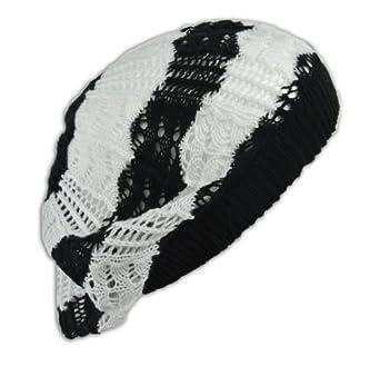 Crochet Beanie Hat Knit Beret Skull Cap Tam cb7ea949e8ba