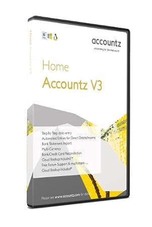 Home Accountz V3 (PC/Mac/Linux)