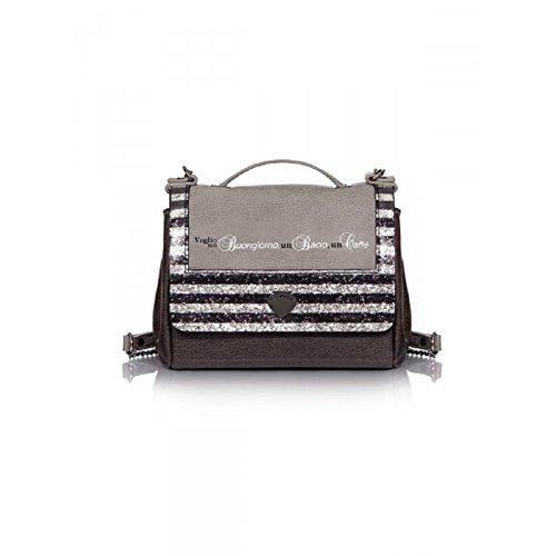 Borsa a tracolla donna Mini Bag Glitter Caffè LE PANDORINE autunno/inverno 2017