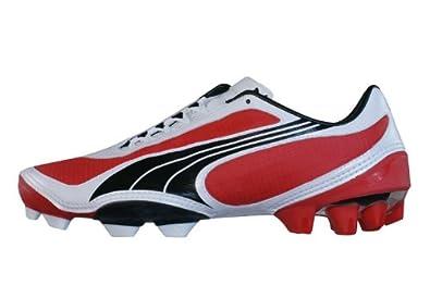 Puma Fußballschuhe v1.08 i FG 101455 02 red whit blk 39
