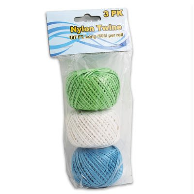 1 piece of 3pc Assorted Colors NYLON HEAVY DUTY TWINE