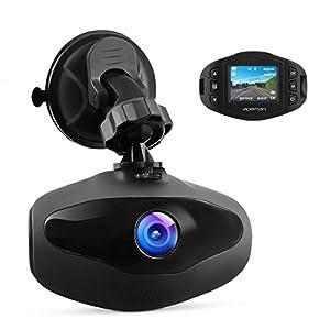 APEMAN ドライブレコーダー 小型ドラレコ SONY センサー+レンズ 1080P Full HD 1200万画素 超高画質 車載カメラ 防犯カメラ WDR 駐車監視 衝撃録画 高速起動