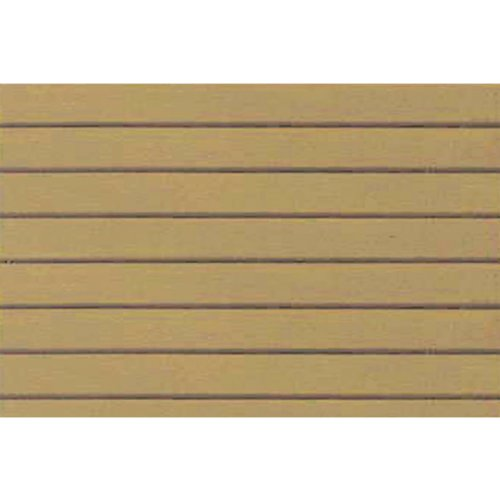 JTT Scenery Products Plastic Pattern Sheets: Clapboard Siding