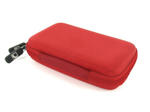 Cool Bananas Bulletproof 2.5 inch Universal Hardcover Case for External Hard Disk – Red