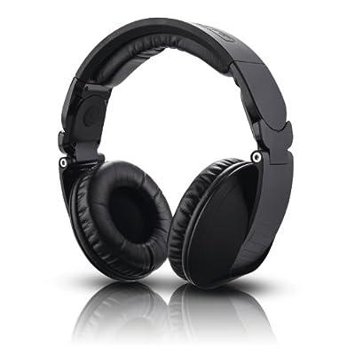 Reloop RHP-20 Knight Professional DJ Headphones Closed Retractable, Black