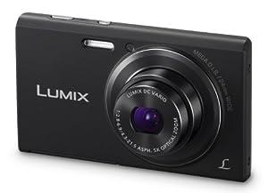 Panasonic Lumix DMC-FH10 16.1 MP Compact Digital Camera with 8x Intelligent Zoom (Black)